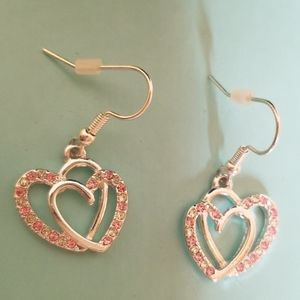 Unbranded Daning Heart Earrings